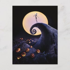 The Nightmare Before Christmas Holiday Postcard