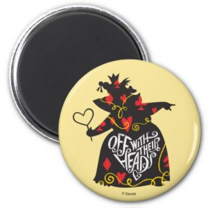 The Queen of Hearts | Off with Their Heads Magnet
