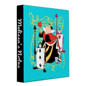 The Queen of Hearts | The Queen's Card Soldiers 3 Ring Binder