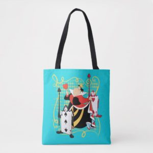 The Queen of Hearts   The Queen's Card Soldiers Tote Bag