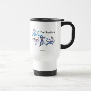 The Rustlers Graphic Travel Mug