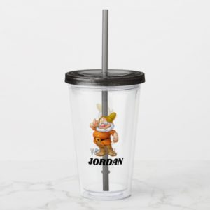 The Seven Dwarfs - Doc | Add Your Name Acrylic Tumbler