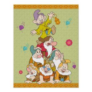 The Seven Dwarfs Pyramid Poster