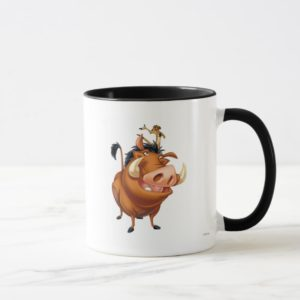 Timon and Pumba Disney Mug