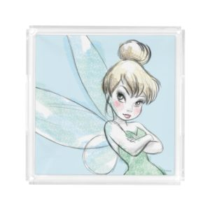 Tinker Bell | Arms Crossed Pastel Acrylic Tray