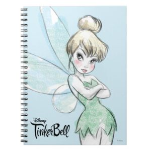 Tinker Bell | Arms Crossed Pastel Notebook