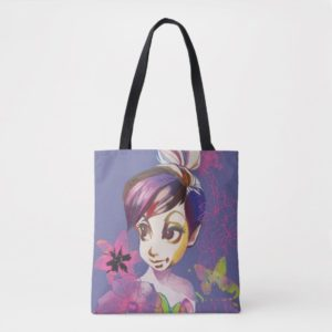 Tinker Bell Flowers Tote Bag