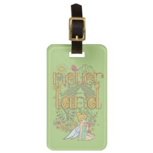 Tinker Bell in Neverland Forest Luggage Tag
