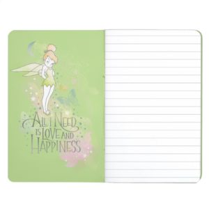 Tinker Bell Love And Happiness Journal