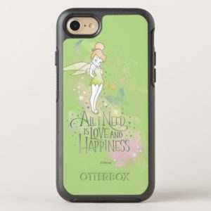 Tinker Bell Love And Happiness OtterBox iPhone Case