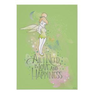 Tinker Bell Love And Happiness Poster