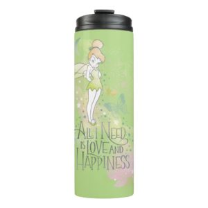 Tinker Bell Love And Happiness Thermal Tumbler