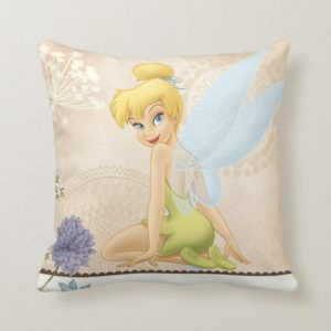 Tinker Bell - Outrageously Cute Throw Pillow