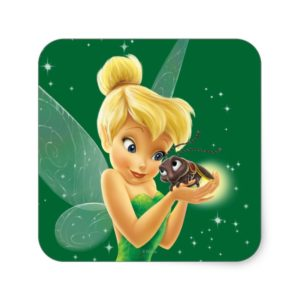Tinker Bell  Pose 25 Square Sticker