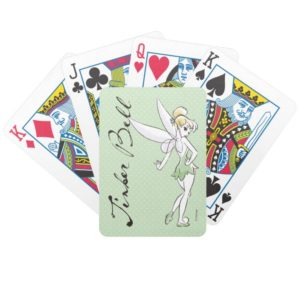 Tinker Bell   Pretty Little Pixie Bicycle Playing Cards