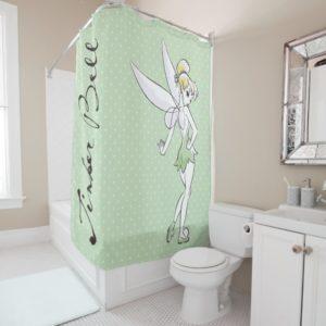 Tinker Bell | Pretty Little Pixie Shower Curtain