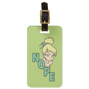 Tinker Bell | She Says Nope Luggage Tag