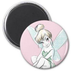Tinker Bell | Sitting Pastel Magnet