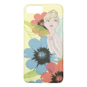 Tinker Bell Sketch With Cosmos Flowers Case-Mate iPhone Case
