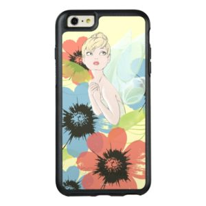 Tinker Bell Sketch With Cosmos Flowers OtterBox iPhone Case