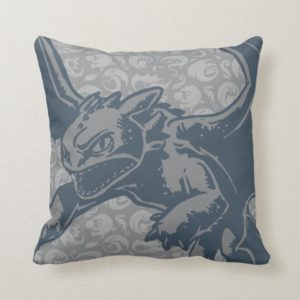 Toothless Character Art Throw Pillow
