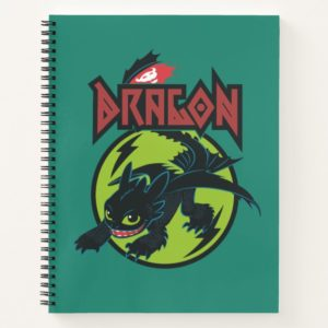 """Toothless """"Dragon"""" Runic Graphic Notebook"""