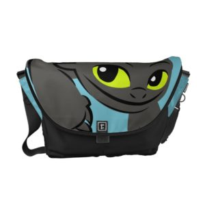 Toothless Flying Illustration Courier Bag