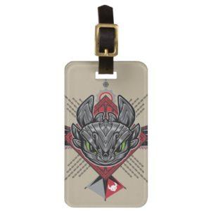 Toothless Tribal Chain Emblem Bag Tag
