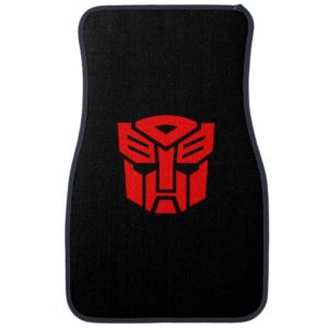 Transformers Autobot Red Mask Car Floor Mat