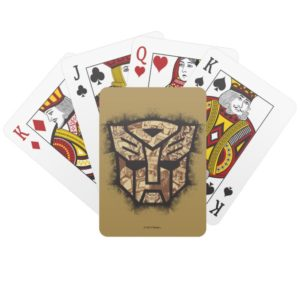 Transformers   Autobot Shield Playing Cards