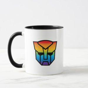 Transformers Autobot Shield | Rainbow Ombre Mug