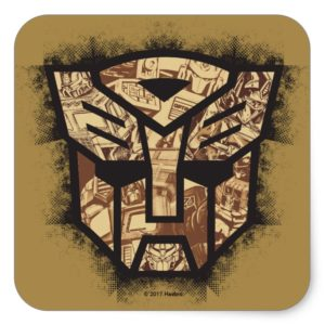 Transformers | Autobot Shield Square Sticker