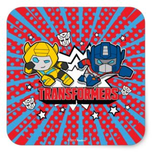Transformers | Autobots Graphic Square Sticker