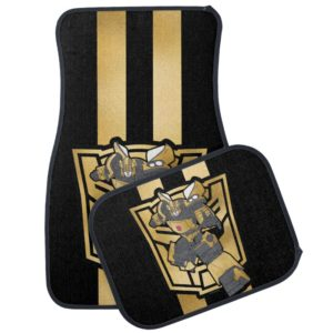 Transformers | Bumblebee Gold Autobot Symbol Car Floor Mat