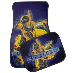 Transformers | Bumblebee Neon Lights Badge Car Floor Mat