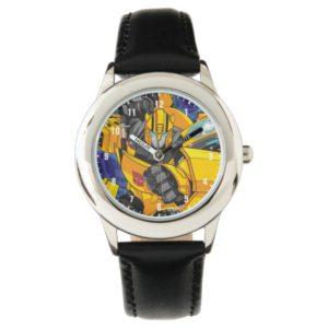 Transformers   Bumblebee Neon Lights Badge Watch