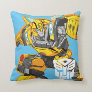 Transformers | Bumblebee Pointing Pose Throw Pillow