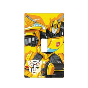 Transformers   Bumblebee Punching Pose Light Switch Cover