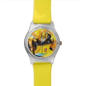 Transformers   Bumblebee Punching Pose Watch