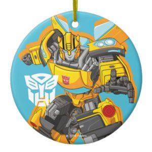 Transformers | Bumblebee Reach Pose Ceramic Ornament