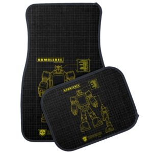 Transformers | Bumblebee Schematic Car Mat