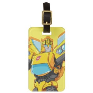 Transformers | Bumblebee Standing Pose Bag Tag