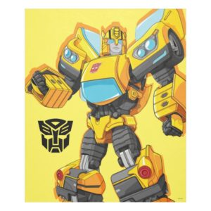 Transformers | Bumblebee Standing Pose Fleece Blanket