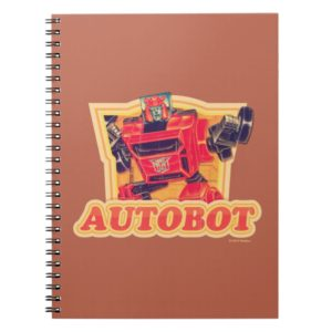 Transformers | Cliffjumper Autobot Notebook
