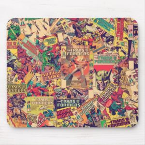 Transformers | Comic Book Print Mouse Pad