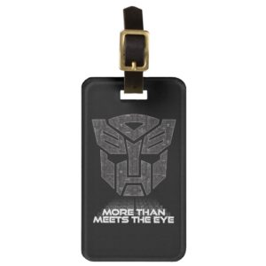 Transformers   More than Meets the Eye Bag Tag