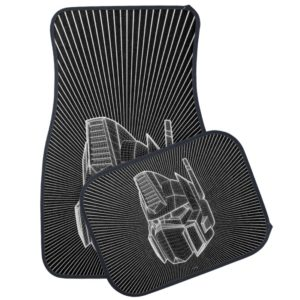 Transformers | Optimus Prime 3D Model Car Floor Mat