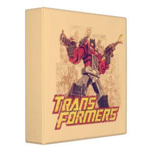 Transformers | Optimus Prime - Comic Book Sketch Binder