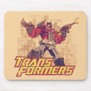 Transformers | Optimus Prime - Comic Book Sketch Mouse Pad