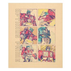 Transformers   Optimus Prime Comic Strip Fleece Blanket